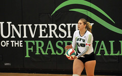 Volleyball women vs COTR 14 (University of the Fraser Valley) Tags: athletics centre womens cascades volleyball envision