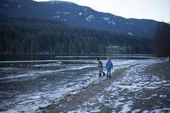 (Krista M (Balance Photography)) Tags: lake snow cold ice outdoors play seasons latefall kidsatplay nearingwinter