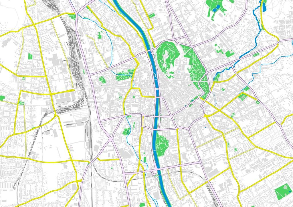 OSM-Layout Graz