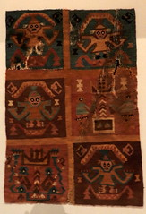 Museo Larco Lima Per galeria textil pao textil  Chim 01 (Rafael Gomez - http://micamara.es) Tags: alfombra peru lima galeria per museo larco textil pao chim