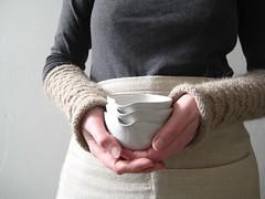 Pouring Bowls (Jude Allman) Tags: ceramic ceramics crafts craft bowl pot pots jude clay pottery bowls pouring stoneware allman