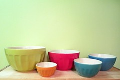 Bowled Over (Georgie_grrl) Tags: toronto ontario kitchen colourful bowls whoohooo valuevillagefind canonpowershotelph330hs mynewdarkpinkside mayfairjackson rainbowawesome