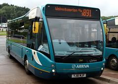 Arriva Midlands North 2941 YJ61MJF Optare Versa (chrisbell50000) Tags: bus station shropshire branded north telford route deck single brand versa branding midlands decker arriva 481 2941 optare 891 v1100 yj61mjf chrisbellphotocom