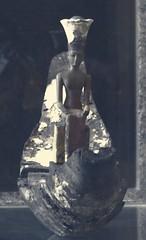 Anuket in the Louvre Museum. (joseluiscarcamoar) Tags: paris louvre egypt muséedulouvre egyptianantiquities anuket anukis anqet crownfemalegoddessofthenile boatprocessionofthegoddessanuket