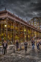 Mercado de San Miguel. Madrid (J.DiazP) Tags: madrid colores nubes hdr mercados
