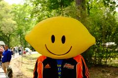 A Lemon Head Person (The Dolly Mama) Tags: city guy spring lemon head bayou artfair