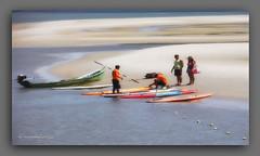 SOLAZ. (manxelalvarez) Tags: solaz placer diversión playa mar actividadesnáuticas