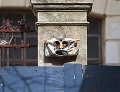 (Goggla) Tags: nyc new york east village street art streetart mask charas