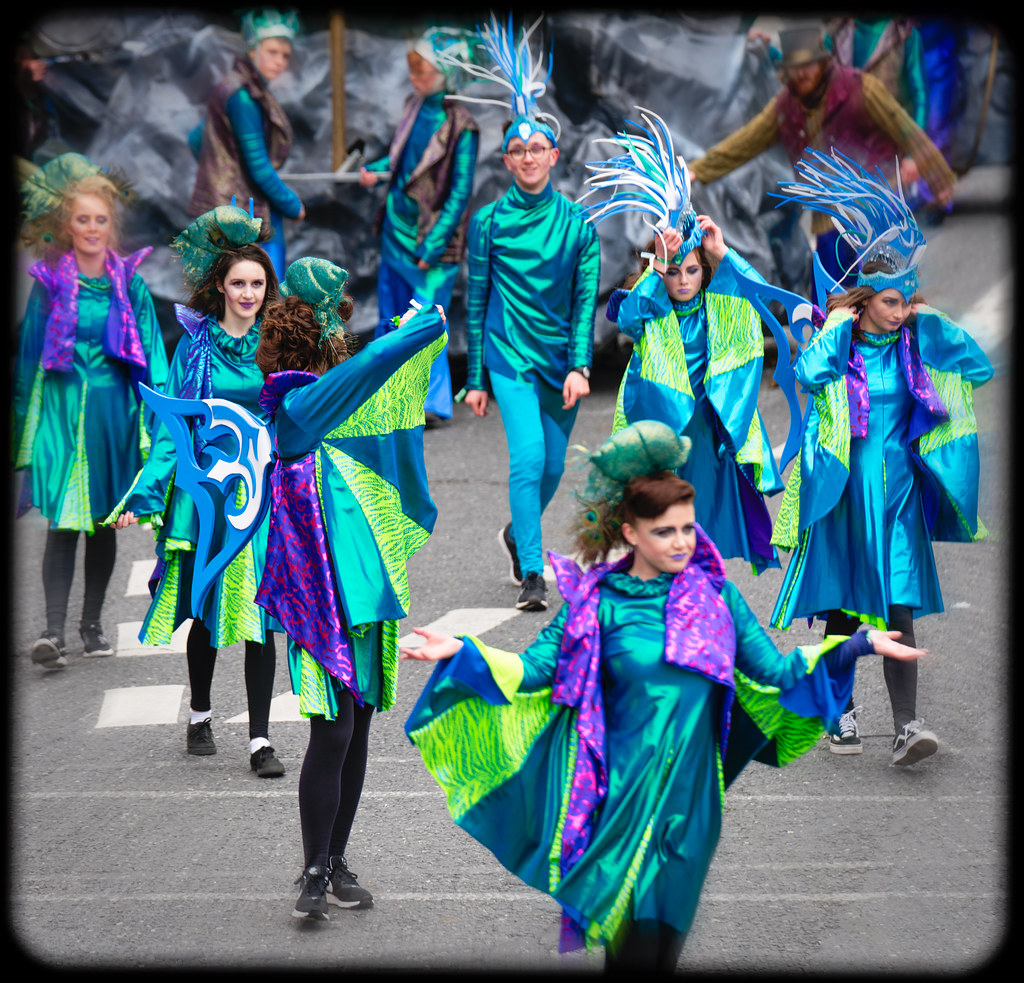 THE INISHOWEN CARNIVAL GROUP [PATRICKS DAY PARADE IN DUBLIN 2017]-126021