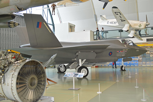 Full Size Mock-up Lockheed-Martin Lightning II