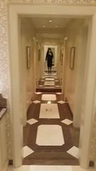 April 2017 - high heels on marble floor video (cilii_77) Tags: crossdresser transgender lady nylon stockings skirt suit satin makeup lipstick kiss veil elegant