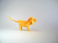 Lion - Dimitris Dalas (Rui.Roda) Tags: origami papiroflexia papierfalten leon leão lion dimitris dalas