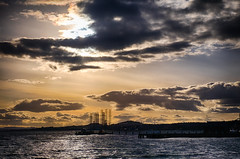 Silvery Tay (John fae Fife) Tags: fujifilmx broughtyferry scotland sunset tay rivertay xt1 sky dundee clouds