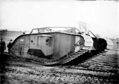 N_53_15_4879 Tank World War I (State Archives of North Carolina) Tags: tank armouredwarfare armoredwarfare markvtank mkvtank markvtankmale mkvtankmale maletank