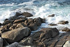 Sea stones (Franco D´Albao) Tags: francodalbao dalbao nikond60 rocas rocks mar sea rompiente galicia bayona espuma foam costa coast piedra stone atlántico atlantic