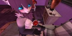 Purple time_007 (Kyon43) Tags: secondlife furry purple spring