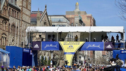 """2017 Boston Marathon Finish Line • <a style=""""font-size:0.8em;"""" href=""""http://www.flickr.com/photos/52364684@N03/33246938403/"""" target=""""_blank"""">View on Flickr</a>"""