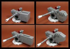 Okay Pick One! (Karf Oohlu) Tags: lego moc gun machinegun remoteweaponsyswtem