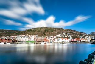 Meeting the spring in Bergen, Hordaland, Norway
