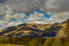 Ben Cruachan in Snow (Brian Travelling) Tags: bencruachan hydro hydroelectric dam clouds sky snow