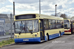 East Yorkshire 317, W417JAT. (EYBusman) Tags: east yorkshire motor services hull bus coach railway car park anlaby road depot alexander alx400 volvo b10ble coaches w417jat eybusman eyms