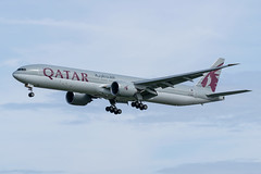 Qatar / B773 / A7-BAK / EGLL 27L (_Wouter Cooremans) Tags: egll lhr london heathrow spotting spotter avgeek aviation airplanespotting qatar b773 a7bak 27l