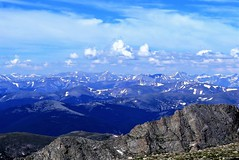 On Top of the Rockies (Patricia Henschen) Tags: mountevans mountains mountain scenicbyway mtevansscenicbyway mtevans rocky colorado idahospringscolorado idahosprings clouds landscape