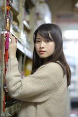 林艾欣 (玩家) Tags: 2017 台灣 台北 南機場公寓 人像 外拍 正妹 模特兒 林艾欣 室內 定焦 無後製 無修圖 taiwan taipei portrait glamour model girl female indoor d610 85mm prime tina lin