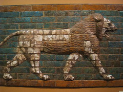 Oriential Institute, Chicago IL (Boston Runner) Tags: oriential institute museum chicago illinois yelda khorsabad court gallery assyria lion mosaic king sargon mesopotamia