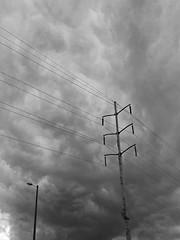 No. 1413 - 1 de abril/17 (s_manrique) Tags: cielo gris cables postes