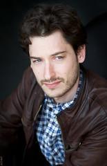 Vincent Boyer 2 (~ Black ☆ Dandy ~) Tags: canon 5d mark iii color portrait couleur man guy blue eyes yeux bleus philosophie philosophe jacket veste cuir
