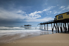 Last legs (betty wiley) Tags: pier frisco bettywileyphotography outerbanks pilings northcarolina beach coast obx waves storm damaged