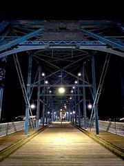 Walnut Street Bridge (#KPbIM) Tags: trip travel vacation winter december 2016 night chattanooga tennessee down town adventure lights walnut street bridge coolidge park structure metal