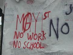 May Day (telafree) Tags: mayday protest anarchy graffiti pdxgraffiti seportland holgate seholgate crestonkenilworth crestonkenilworthneighborhood