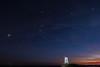 Llanddwyn Dusk (dilys_thompson) Tags: llanddwyn llanddwynisland llanddwynlighthouse ligthouse stars sky lowlightphotography astrophotography