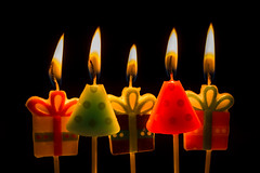 Happy birthday (hjuengst) Tags: macromondays happy10years candle light candlelight flame fire