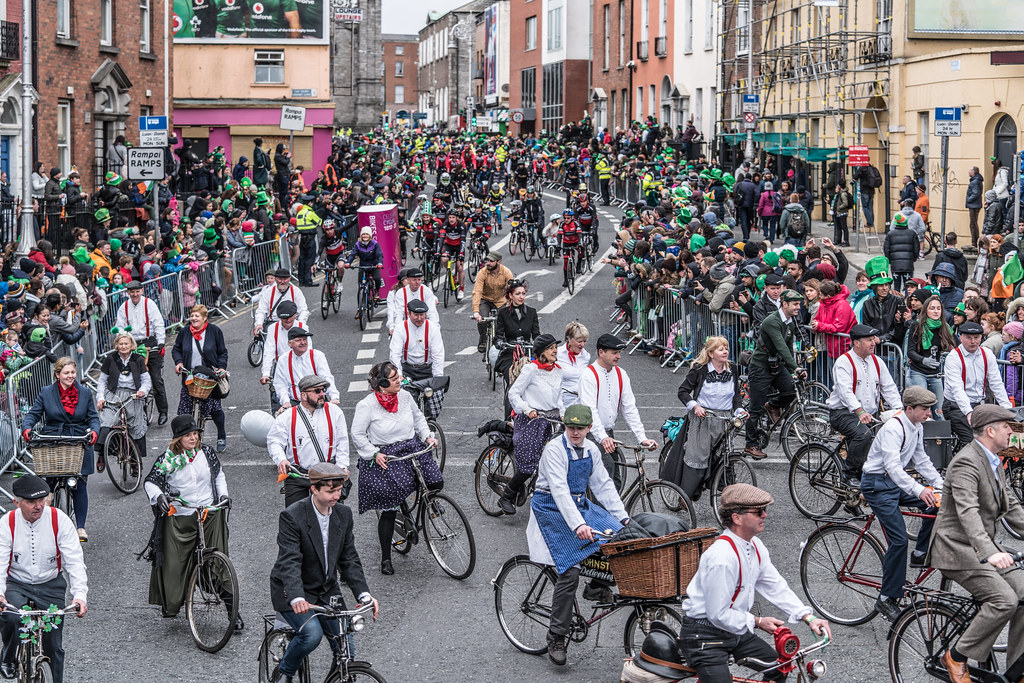 DUBLIN CYCLING  CAMPAIGN [ ST PATRICKS DAY PARADE 2017]-125826