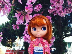 Conrad in Kimono (TuSabesBlythe) Tags: kozy conrad doll blythe bl takara