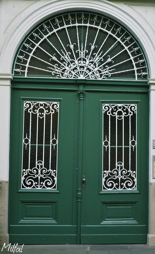Amazing Eingangstr Hoffnung Tags Frontdoor Deutschland Picture Green Door  Milfoil With Haustr Grn