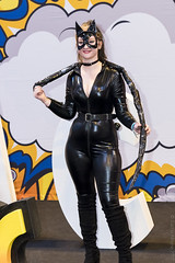 MCM Birmingham Comic Con 2017 (Sacha Alleyne) Tags: comiccon cosplay costume dressup makeup 2017 nec catwoman girl babe dc