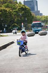2017-04-30-10h23m47-4 (LittleBunny Chiu) Tags: 皇居外苑 腳踏車 騎腳踏車 日本 東京 日本旅行 去日本旅行 東京台場 台場 人工沙灘 御台場海濱公園