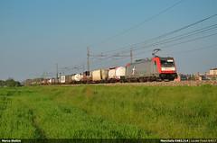 Mercitalia Rail E483.314 (Marco Stellini) Tags: mercitalia rail e483 traxx bombardier fs cargo f140e locate milano hupac