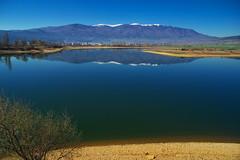 "Язовир ""Дренов дол"" (sevdelinkata) Tags: dam water blue sky mountain osogovo bulgaria"