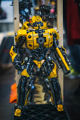 Bumblebee <3 (maxgrosser) Tags: sony a6000 minolta 50mm af transformer lbm gelb yellow technik con messe