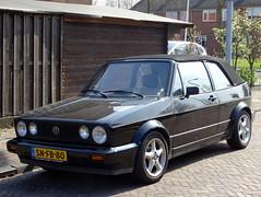 Volkswagen Golf 1 cabrio 1991 nr3521 (Ardy van Driel) Tags: snfb80 softtop