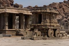 Vittala (Vitthala) Temple, Hampi (JohnMawer) Tags: hampi karnataka india nimbapura in vijayanagaraempire chariot