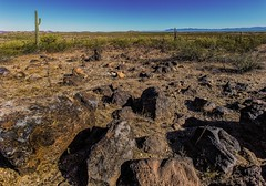 Natural Desert (Terry L Richmond) Tags: canon6d canon1740 arizona desert natural landscape close rugged blending