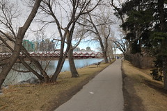 Heading downtown for the Vimy parade in Calgary (davebloggs007) Tags: calgary albertacanada