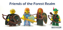 Friends of the Forest Realm (WhiteFang (Eurobricks)) Tags: lego collectable minifigures series city town space castle medieval ancient god myth minifig distribution ninja history cmfs sports hobby medical animal pet occupation costume pirates maiden batman licensed dance disco service food hospital child children knights battle farm hero paris sparta historic