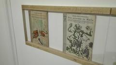 Lo que cuenta Novelas y Cuentos. Las portadas de Manolo Prieto 1940-1957. (ciudad imaginaria) Tags: madrid exposición manoloprieto edgarriceburroughs